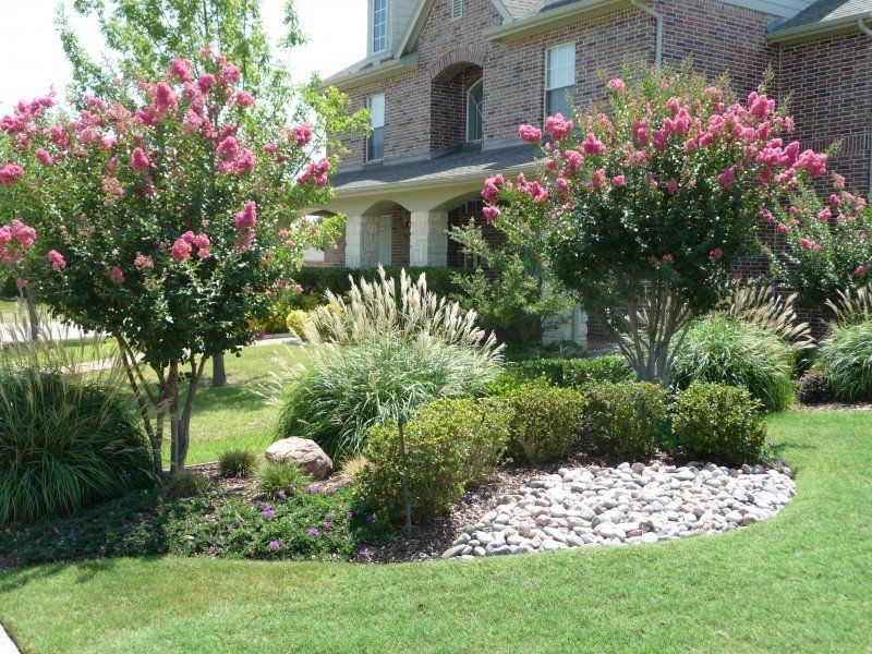 Superior Tree For Front Yard Ideas Part - 5: Tree Placement In Front Yard