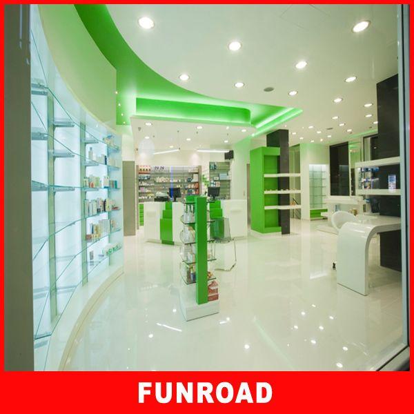 Customize design modern pharmacy cabinet buy modern for Modern pharmacy design