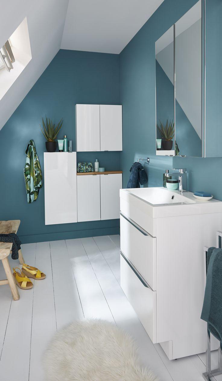 Wagen Sie Die Farbe In Ihrem Badezimmer Badezimmer Farben Badezimmer Haus