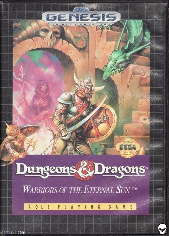 dungeons and dragons warriors of the eternal sun