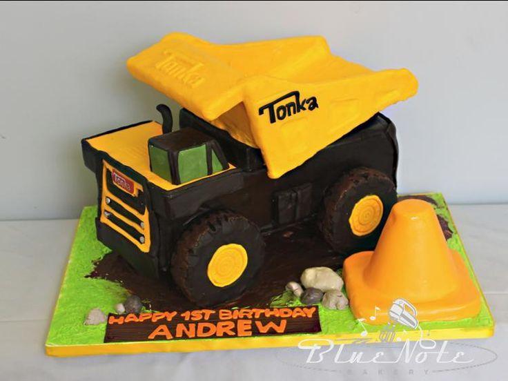 Tonka Truck Birthday Cakes Found On Bluenotebakery Com With