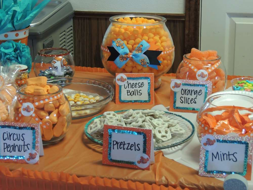 Finding Nemo Birthday Party Ideas   Photo 4 of 10 & Finding Nemo Birthday Party Ideas   Finding nemo Birthdays and ...