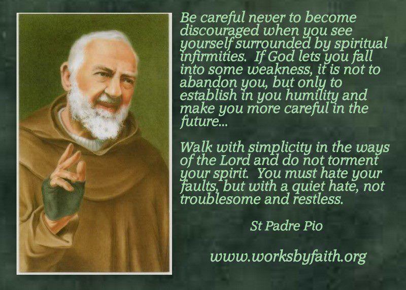 Padre Pio Quotes Stpioquote 800×572  Padre Pio  Stpio Of Pietrelcina .