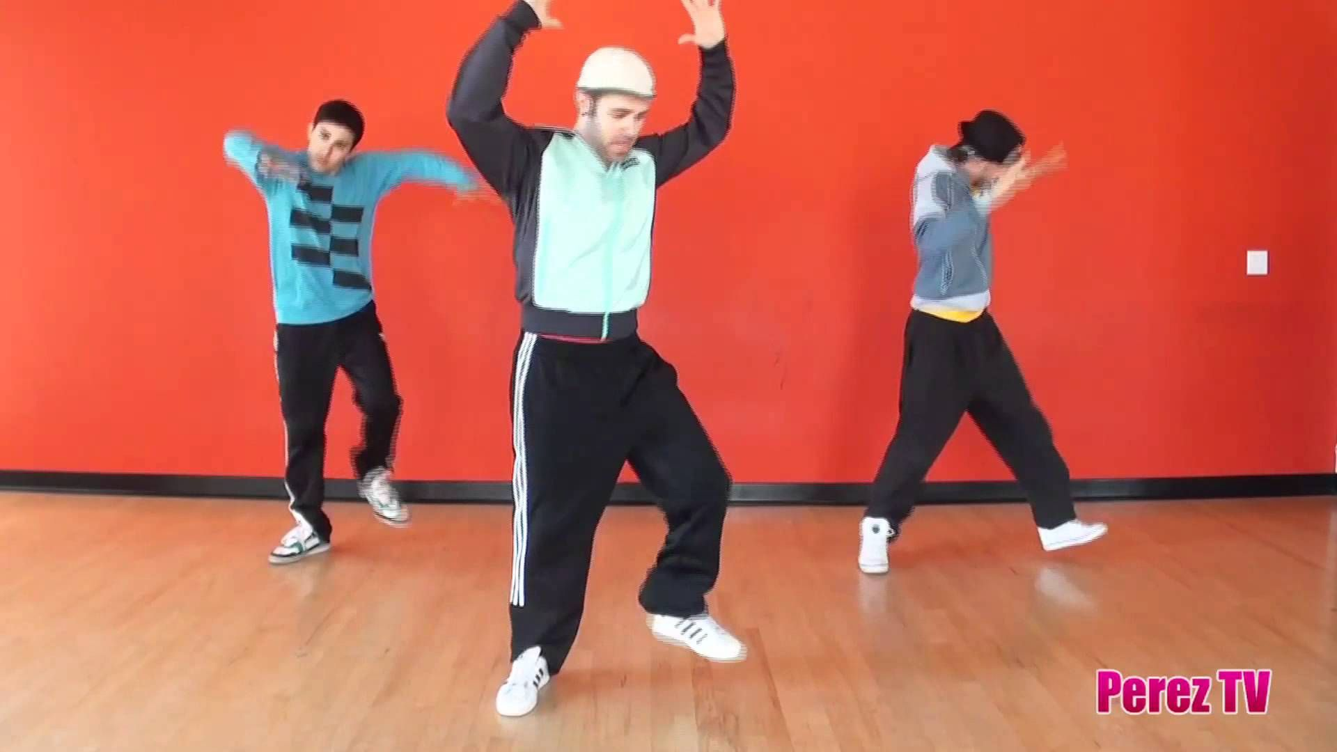 chair exercise justin timberlake ergonomic white easy dance tutorial to the song party rock anthem