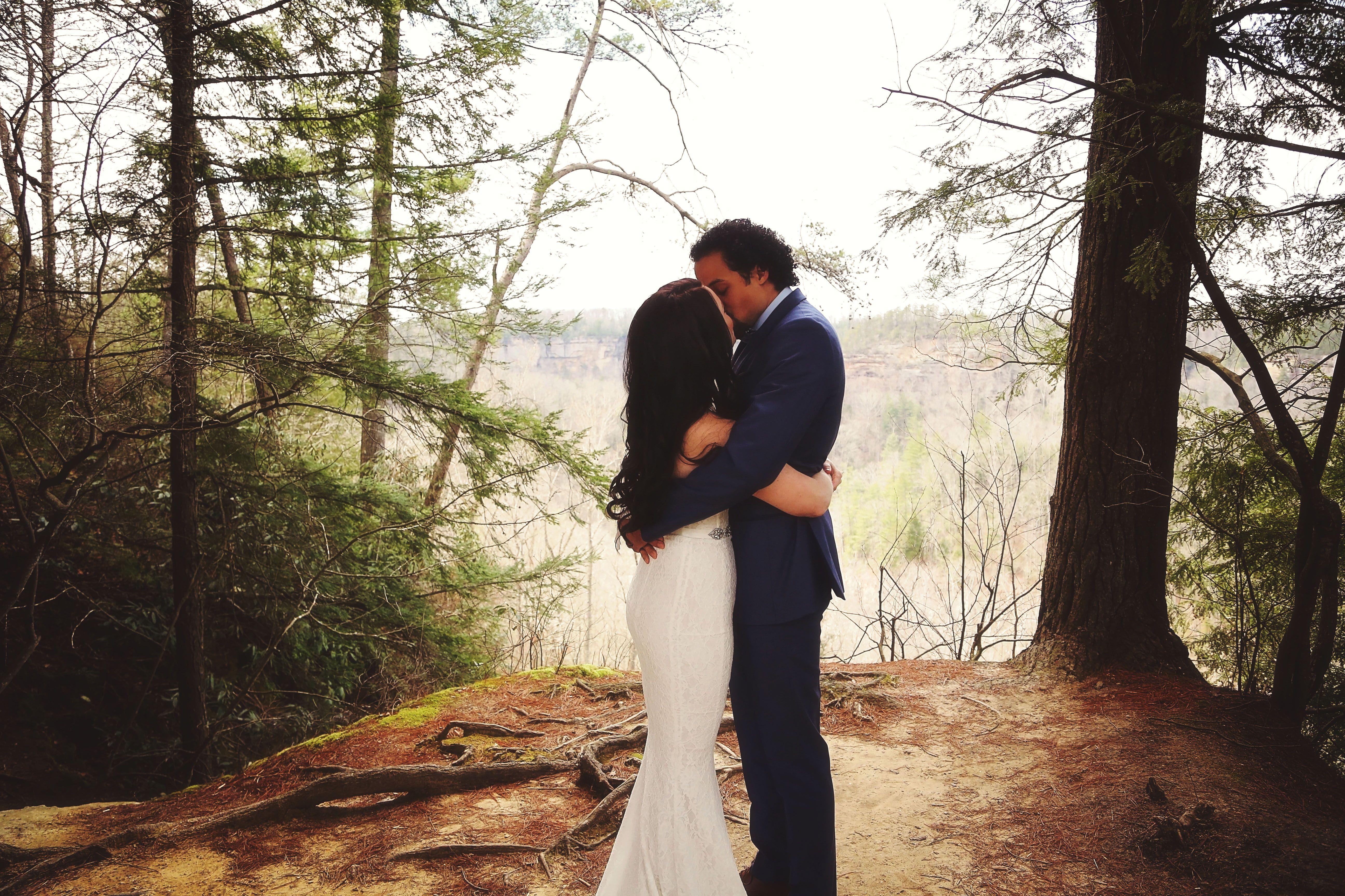 Kentucky Elopement And Destination Wedding Red River Gorge Wedding Red River Gorge Tiny Wedding Destination Wedding Announcements