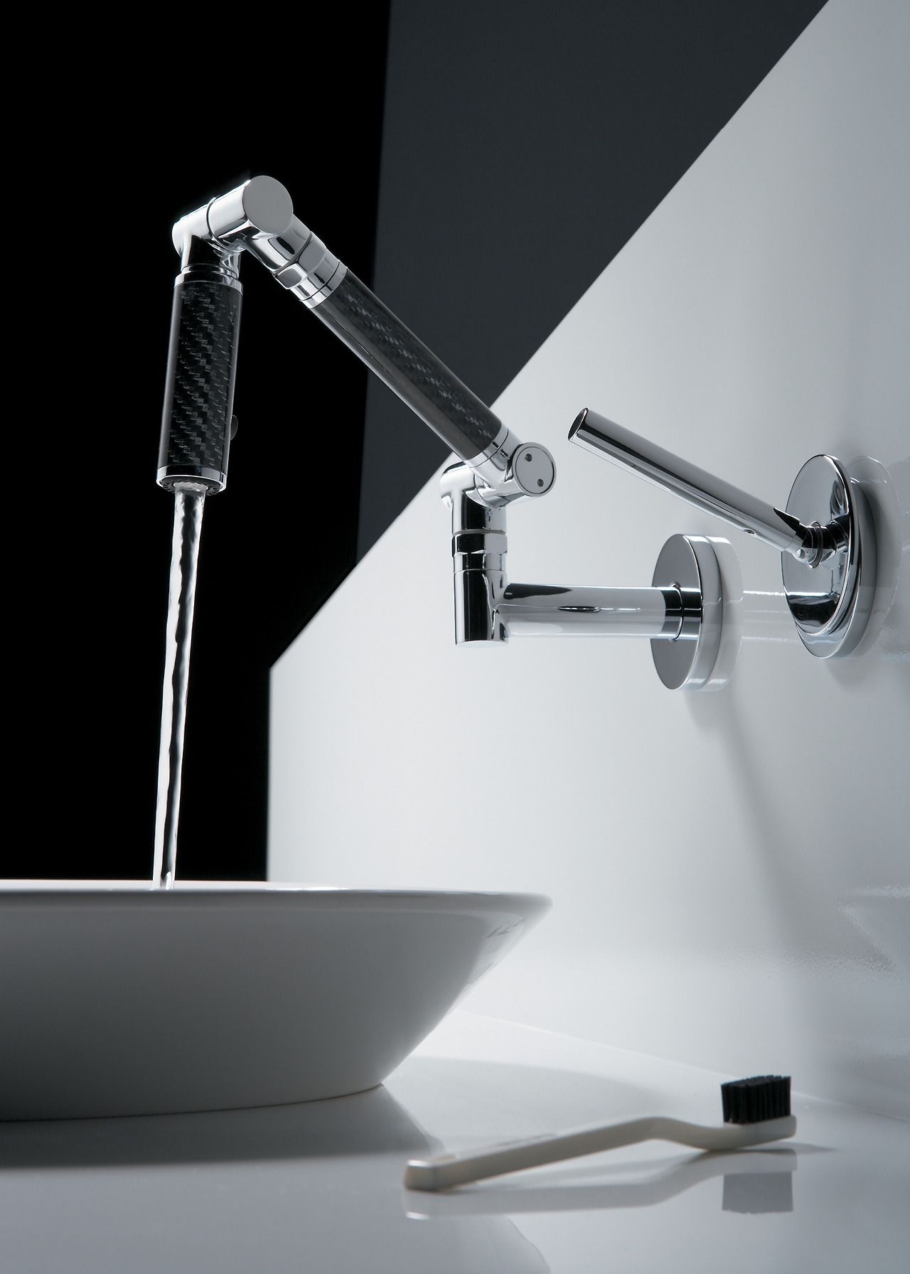 The Bold Look of | Fixtures | Pinterest | Water flow, Faucet and Sinks