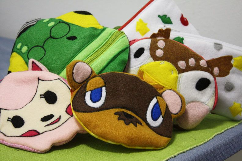 Custom animal crossing pouch character of your by