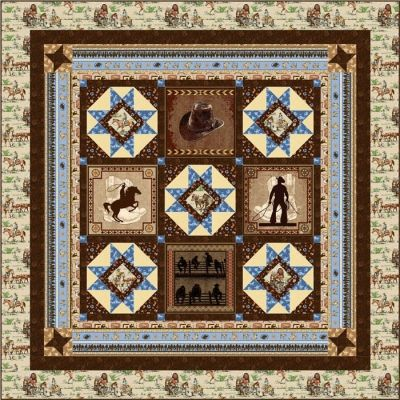 Pin By Quiltwoman Com On Quilts Cowboy Quilt Quilt Patterns Quilts