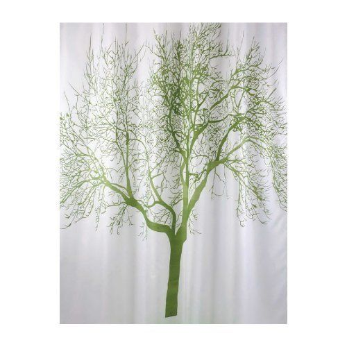 Green Tree Shower Curtain Curtains Landscape Designs Trees