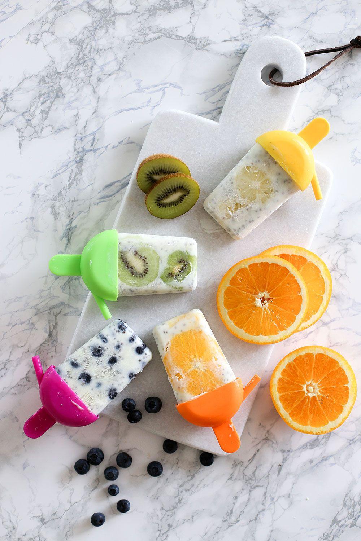 Eitelkeit Küchen Hacks Galerie Von Popsicles Mit Früchten Und Joghurt, Küchen Dekoration,