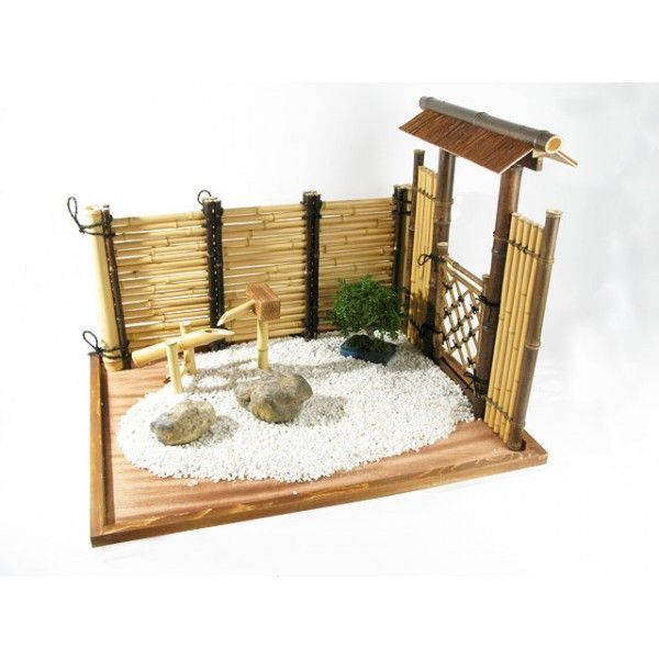 décoration jardin zen miniature   Jardin Privé   Pinterest