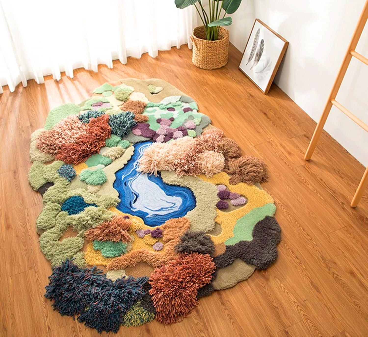 These Super Cute 'Little Forest' 3D Rugs Are The Ultimate