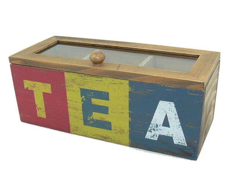 Tea Box Cajas Pintadas Cajas Cajas De Madera