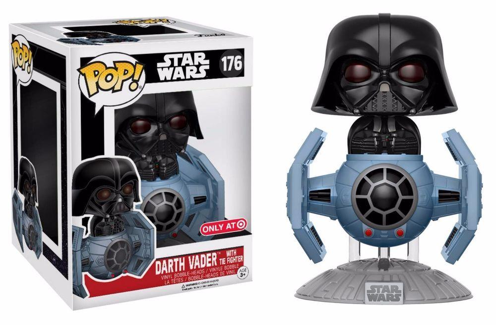 Darth Vader With Tie Fighter Target Exclusive Star Wars 40th Funko Pop Ride Funko Pop Star Wars Darth Vader Tie Fighter Darth Vader Funko Pop