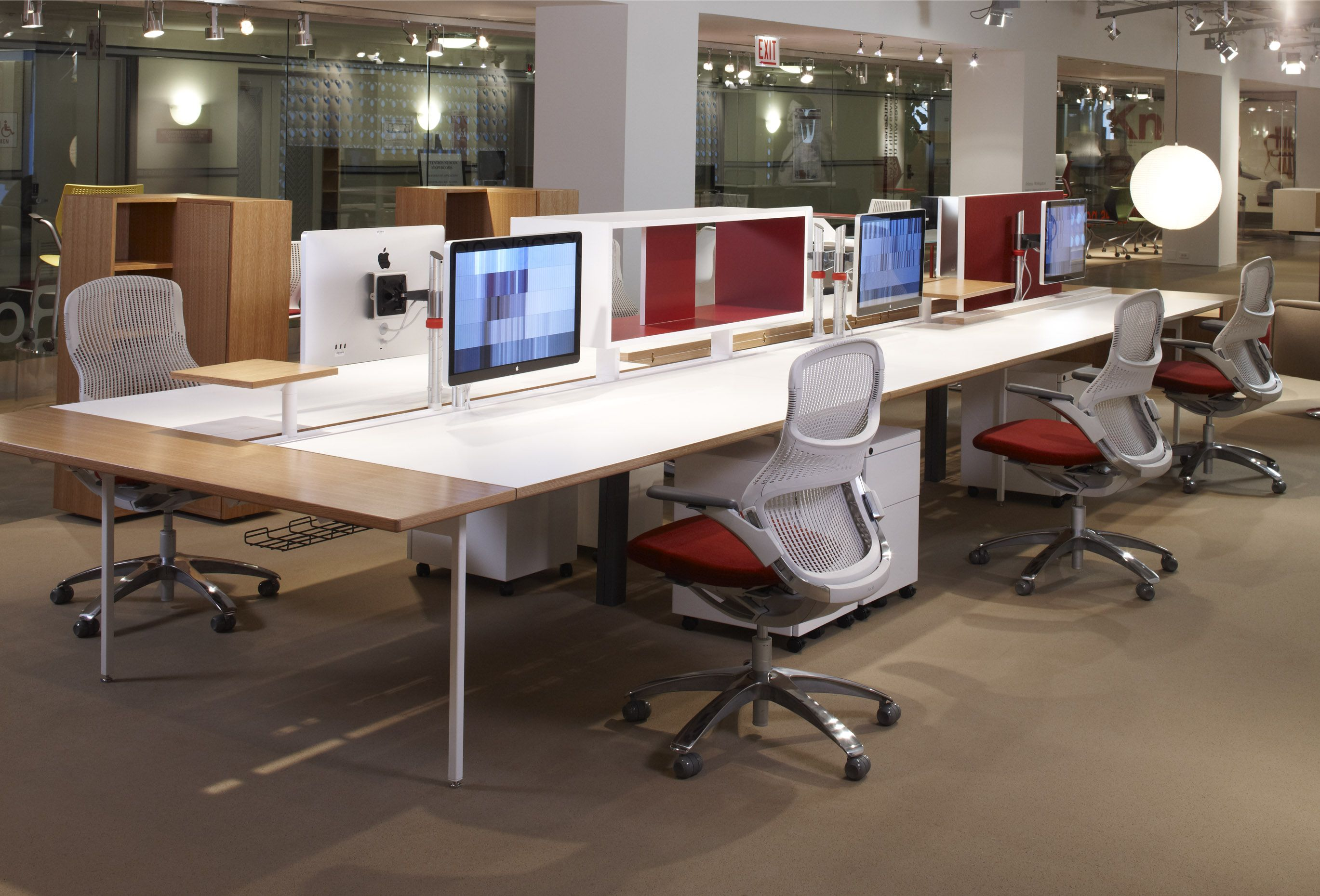 Knoll antenna workspaces