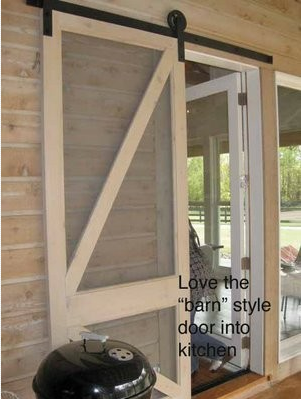 New Take On A Sliding Screen Door Home Ideas Pinterest Sliding