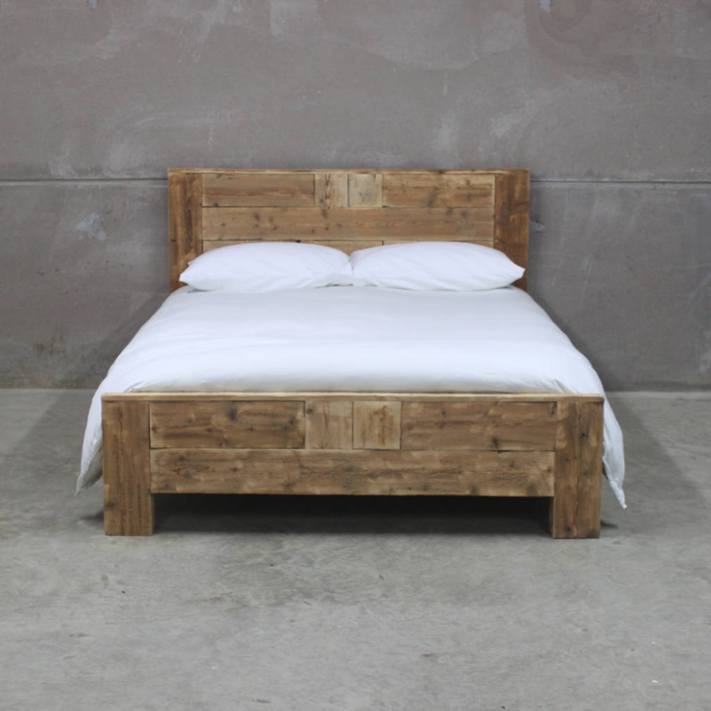 Avalon Reclaimed Wood Bed