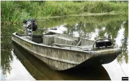 Gator trax duck hunting boats