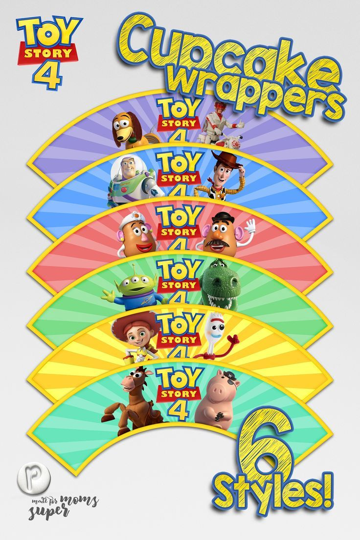 toy story cupcake wrappers in 2020