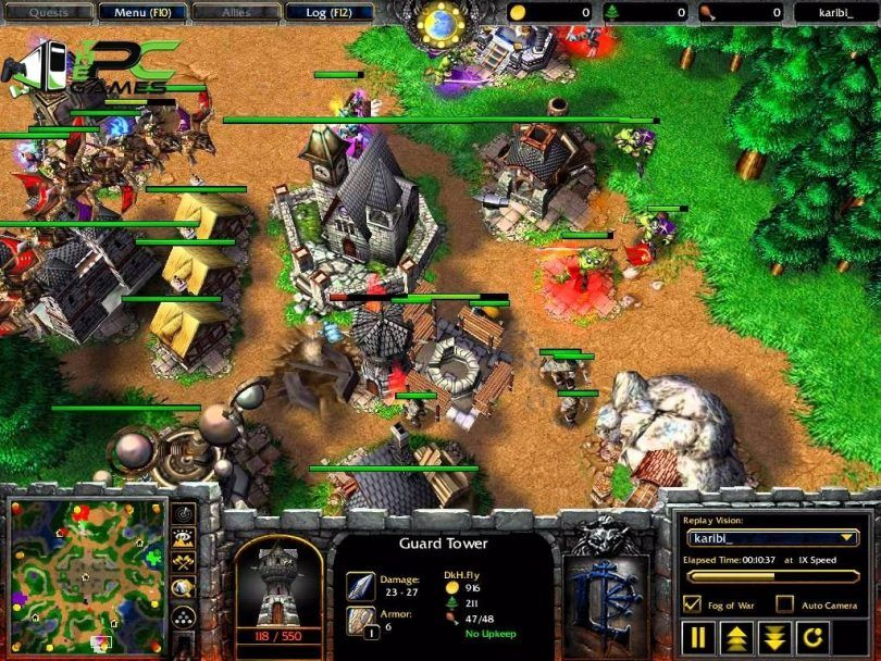 download game warcraft iii