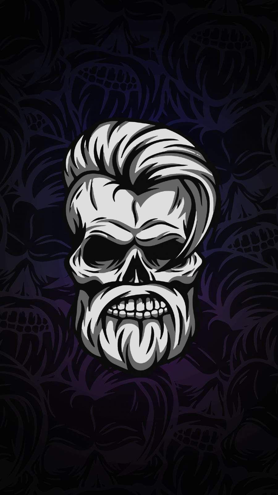 Beard Skull Iphone Wallpaper Skull Wallpaper Beard Wallpaper Skull Wallpaper Iphone