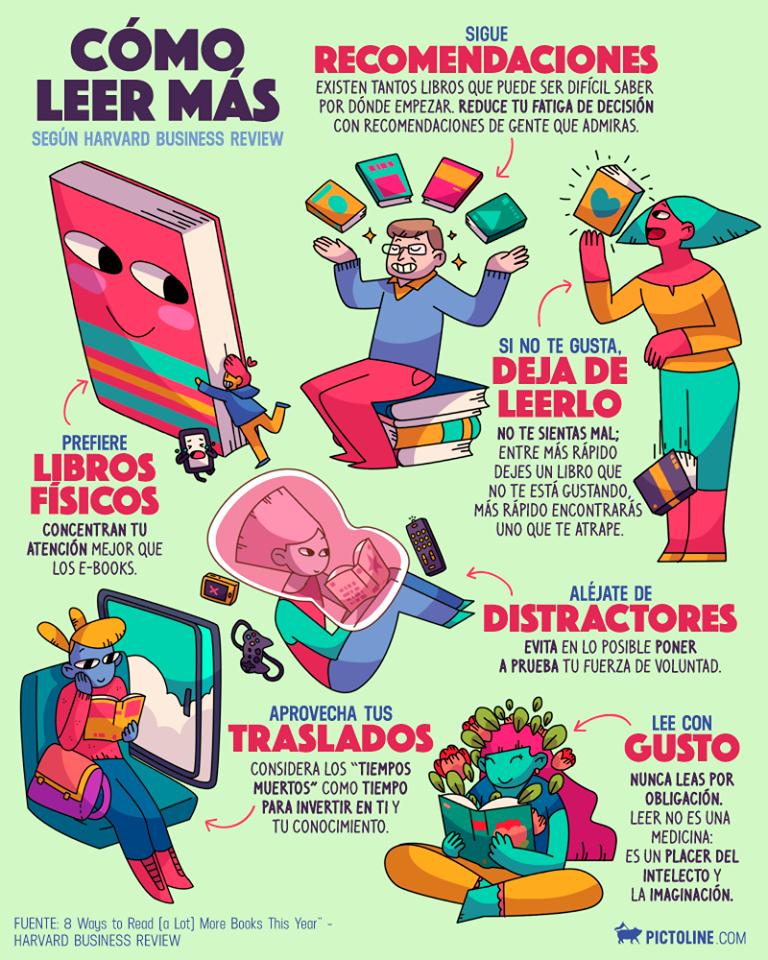 Algunas recomendaciones para #leer más.  quelibroleo.com/