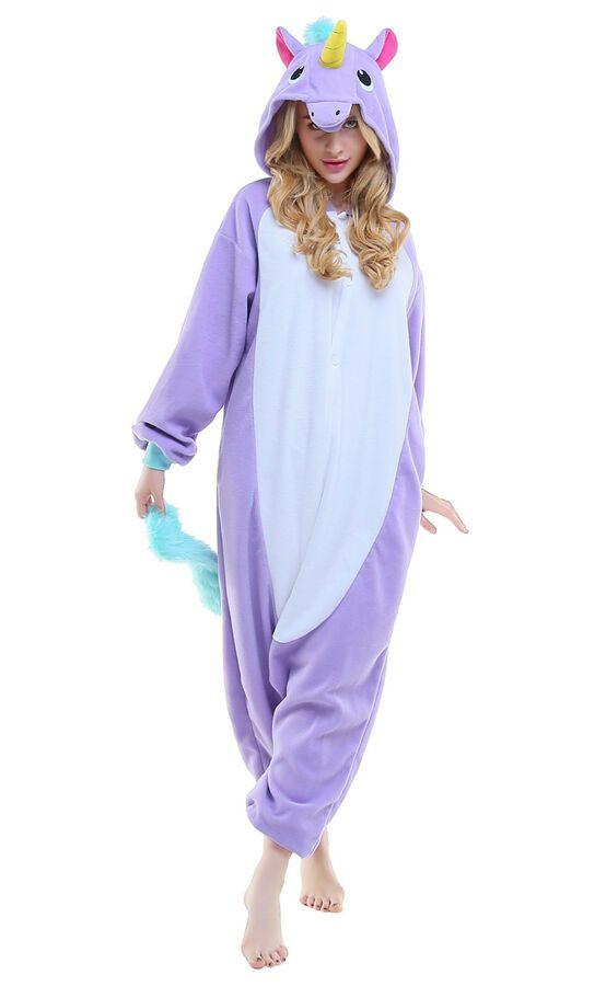 5036bded8b Carnival Unisex Adult Pajamas Kigurumi Cosplay Costume Animal sleepwear  Adult Pajamas Carnival