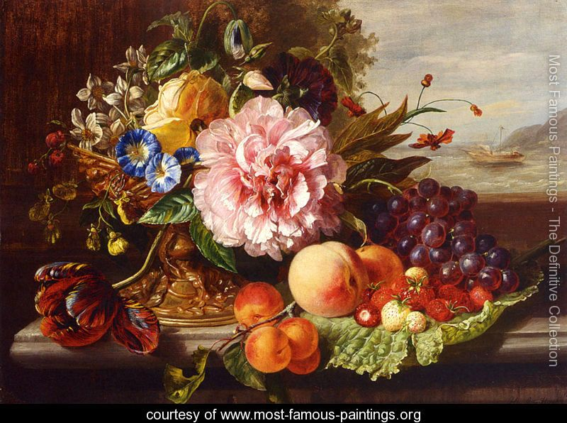 Famous Classic Art | ... And Fruit - Helen Augusta ...