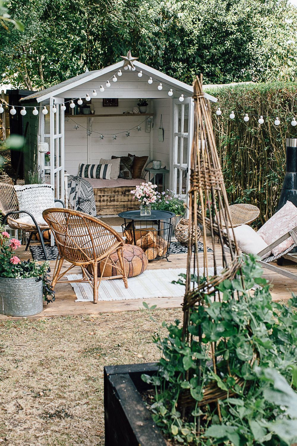Global Inspired Home Tour {Upstairs} | Summer house ...