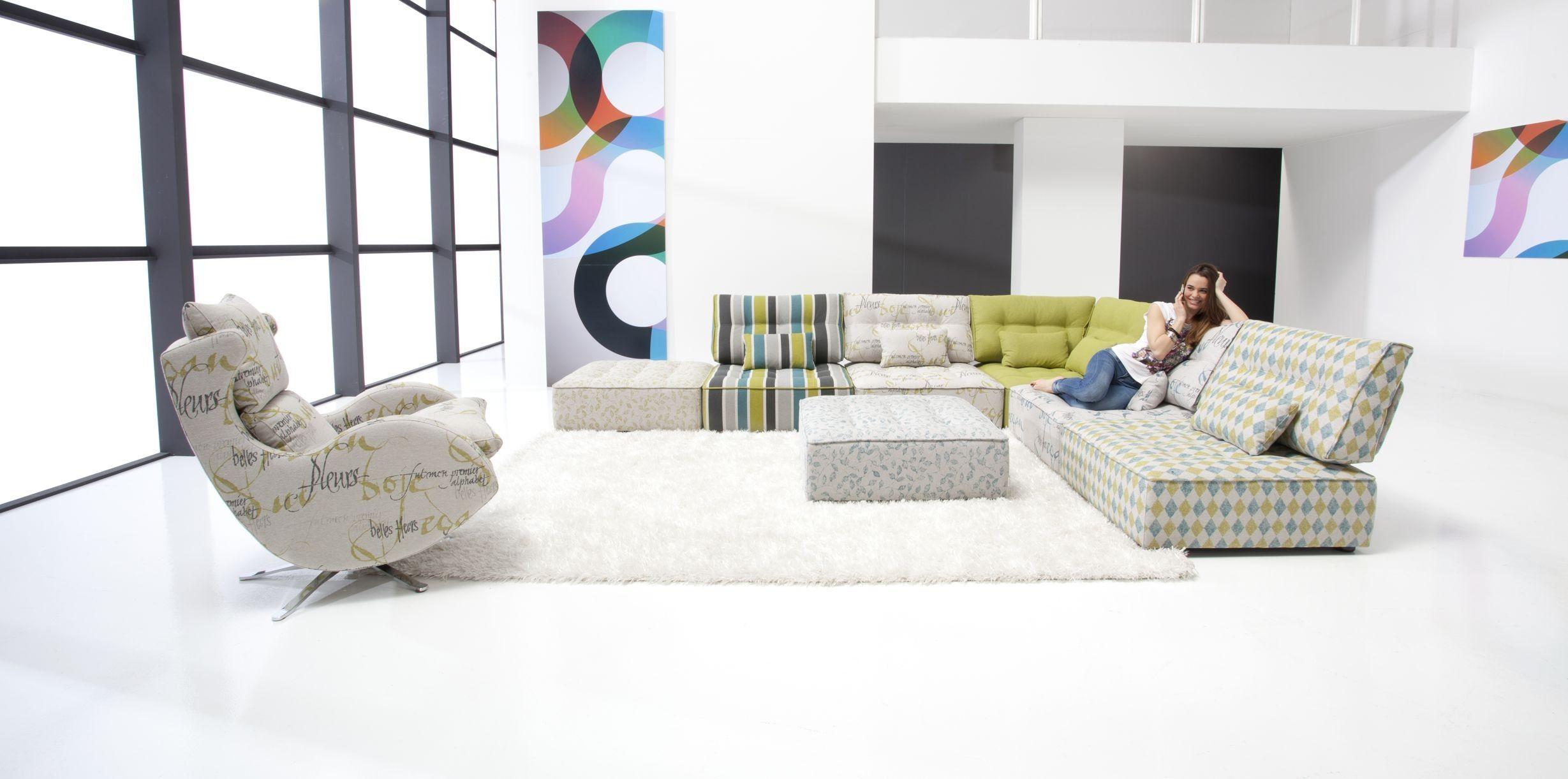Arianne Modern Modular Sectional Sofa Fama Sofas Corner Sofa