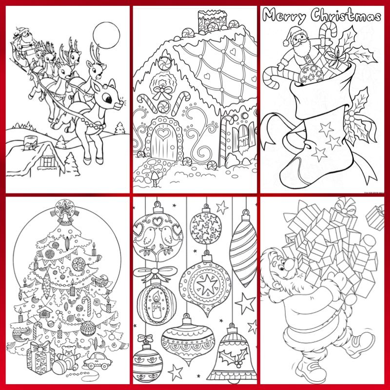 Christmas Colouring In Pages Christmas Coloring Printables Free Merry Christmas Coloring Pages Christmas Coloring Cards