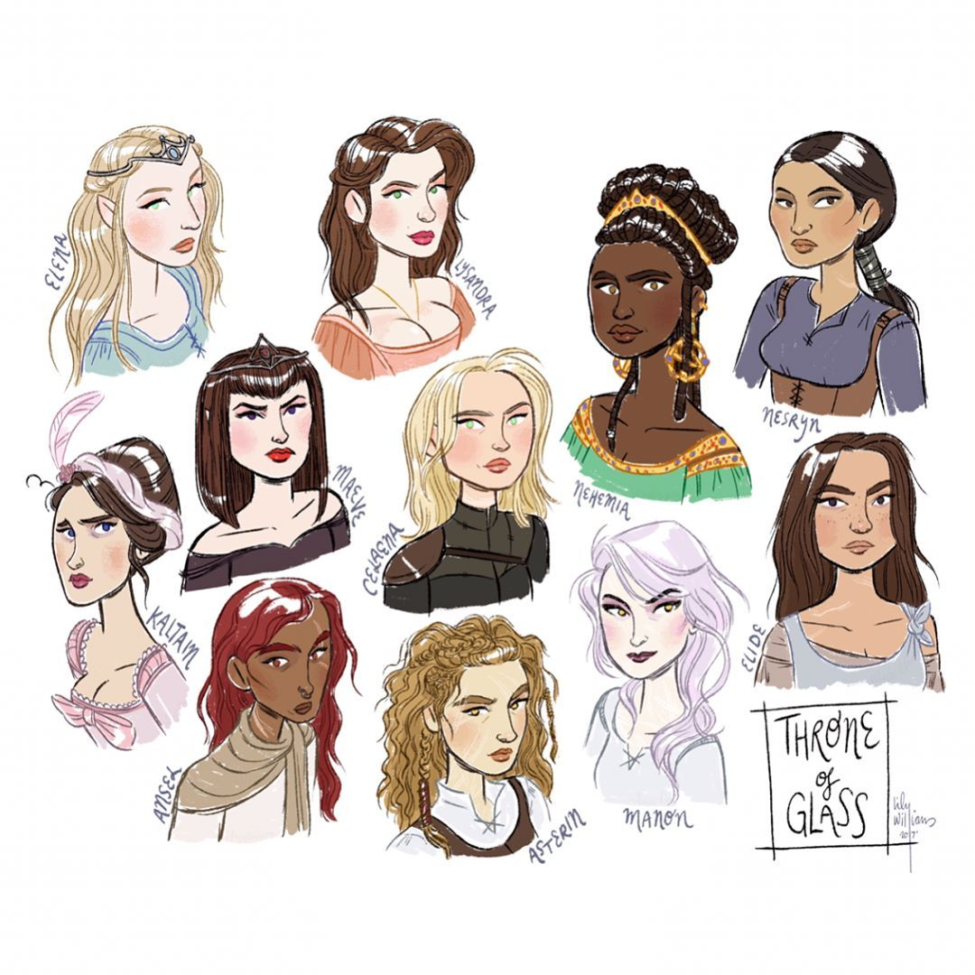 Thingsiphotoshopped Some Of The Female Characters From The