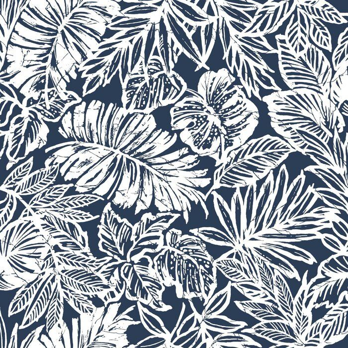 Bay Isle Home Kevon Leaf 18 86 L X 18 W Peel And Stick Wallpaper Roll Reviews Wayfair Peel And Stick Wallpaper Tropical Leaves Tropical Wallpaper