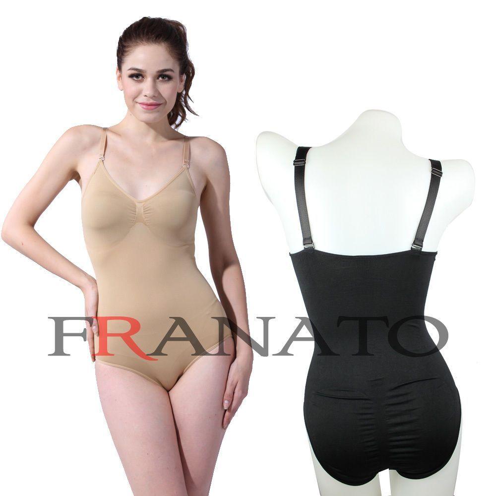 7bd4ad664af6a Women Comfy Body Shaper Slimmer Firm Control Body Briefer Waist ...