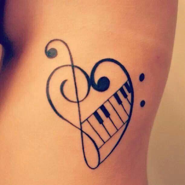 Clave De Sol Tatouage Cle De Sol Tatouage Musique Tatouage