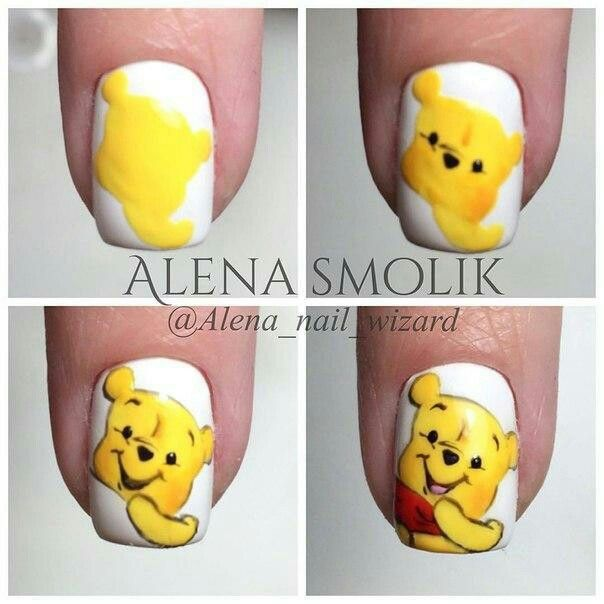 Pin de Анна Иващенко en мультяшки   Pinterest   Diseños de uñas ...