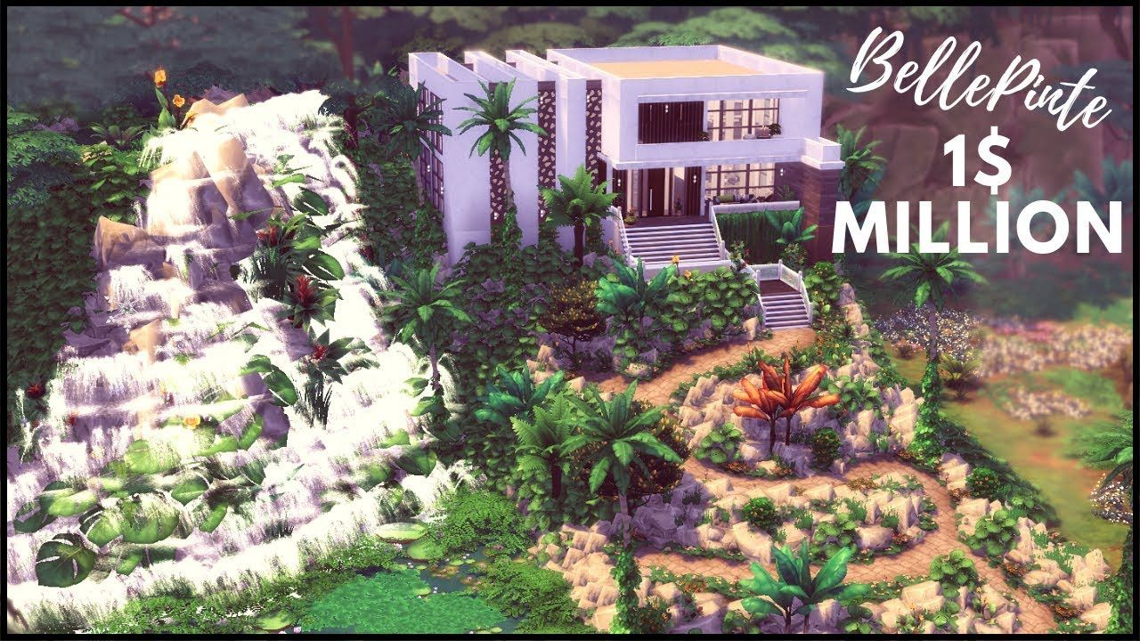 1 Million Challenge Les Sims 4 Speed Build Sims 4