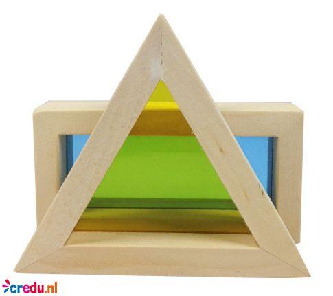 Regenboogblokken - http://credu.nl/product/regenboog-blokken/