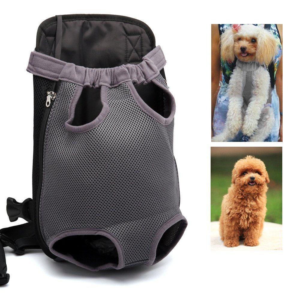 Pet Carrier Backpack Quno Adjustable Pet Front Cat Dog