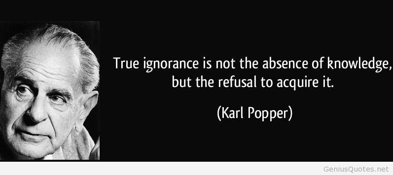 Image result for karl popper quote