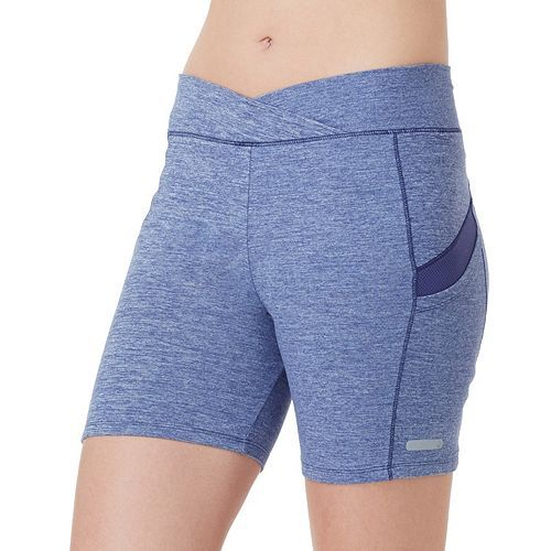 Women's Cuddl Duds SportLayer Fitted Workout Shorts