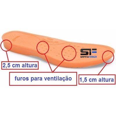 Palmilha Gel Amortecedora Massageadora Diabédicos Botas - R$ 13,99