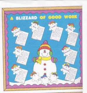 Winter Holiday Bulletin Board Ideas | SITE4TEACHERS.COM: Winter Bulletin Board Idea