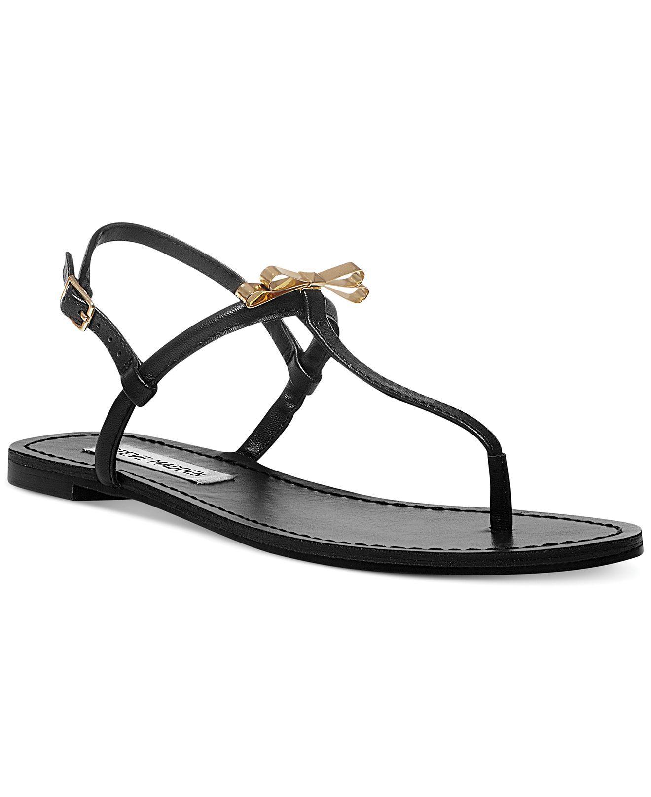 ae776b8e7922a Steve Madden Women s Daisey Flat Thong Sandals - Sandals - Shoes - Macy s