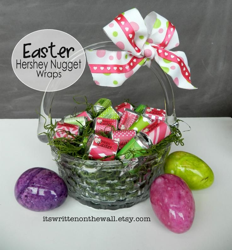 Hershey nugget wrappers download easter spring things fun easter chocolates for easter baskets hershey chocolate nugget candy bar wraps negle Images