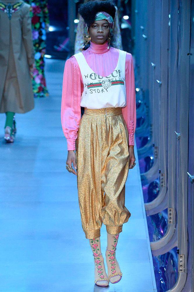 53ccd782b42c Gucci коллекция   Коллекции осень-зима 2017 2018   Милан   VOGUE Мода 70