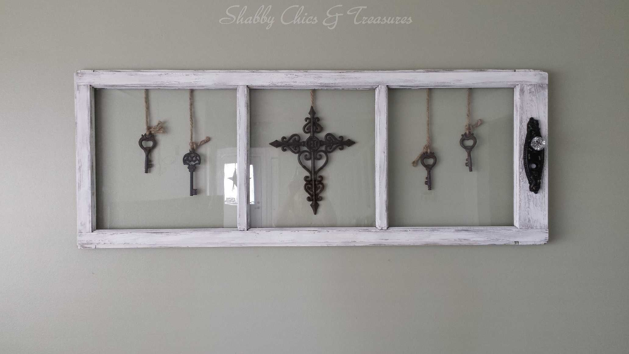 I loved the shape of this antique window however wanted a different