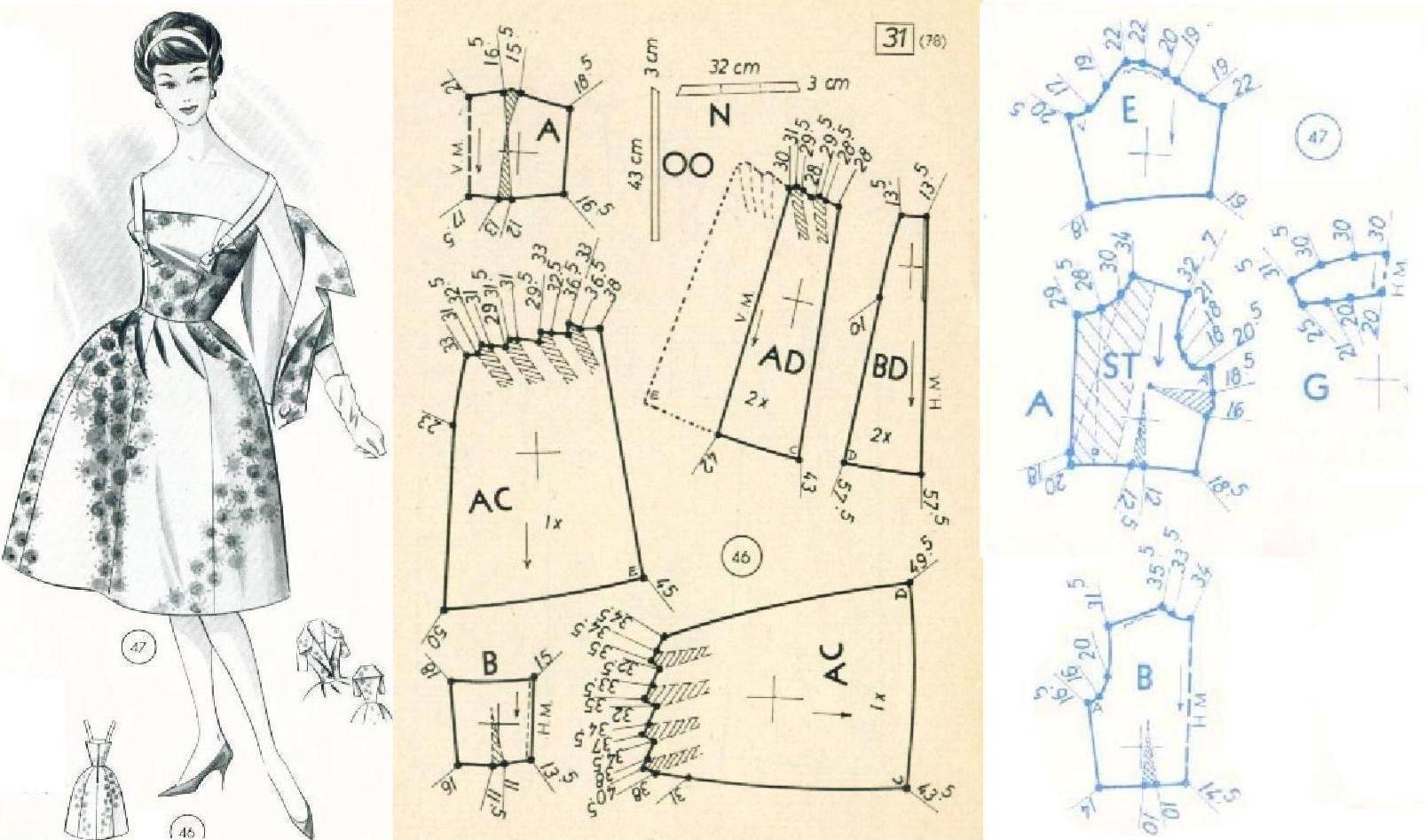 Pin de Diana Marsella en patrones | Costura, Corte y confección y ...