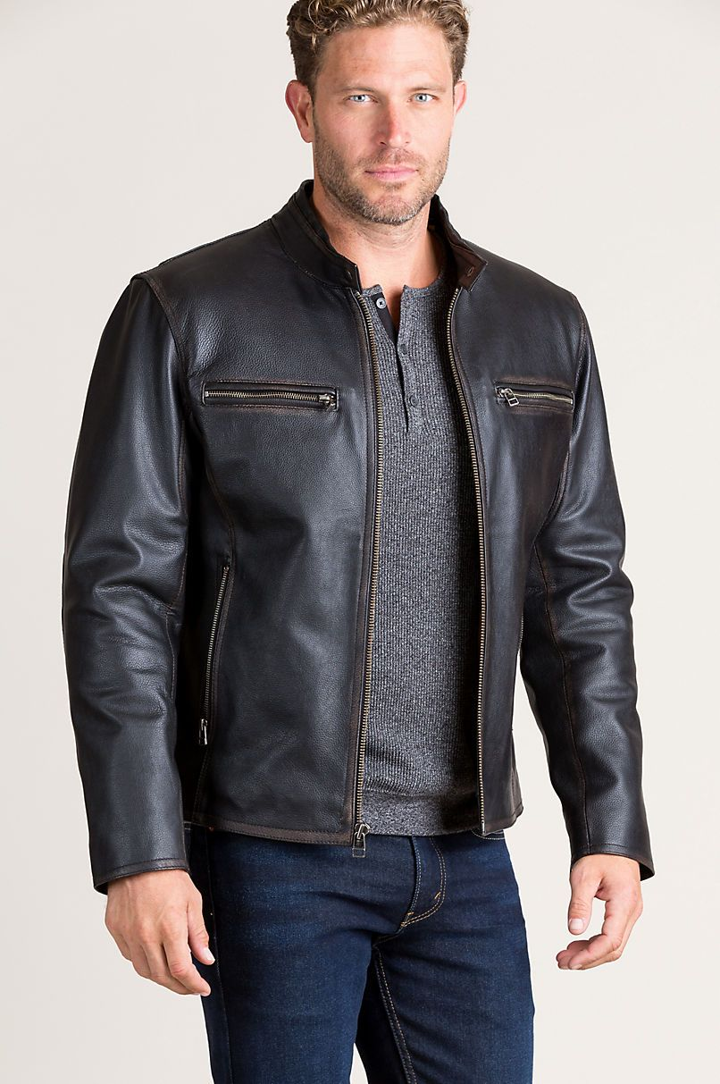 Pin By Cory Kalina On Adventuous Rugged Men Leather Jacket Jackets Leather