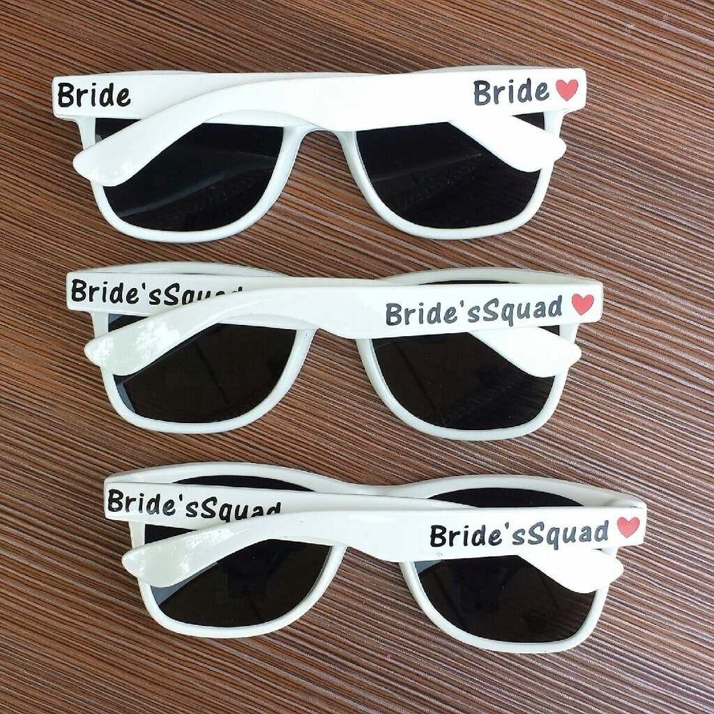 Wedding Sunglasses Bridal Party Sunglasses Bachelorette Sunglasses Bachelorette Party Favors Personalized Sunglasses